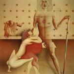 »Der Ideologe«   1973   Acryl auf Leinwand