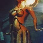 »Tanzende Frau II« Patinierarbeiten   1998   Bronze