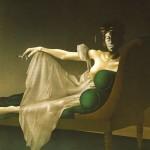 Madame Récamier   1974   Acryl auf Leinwand