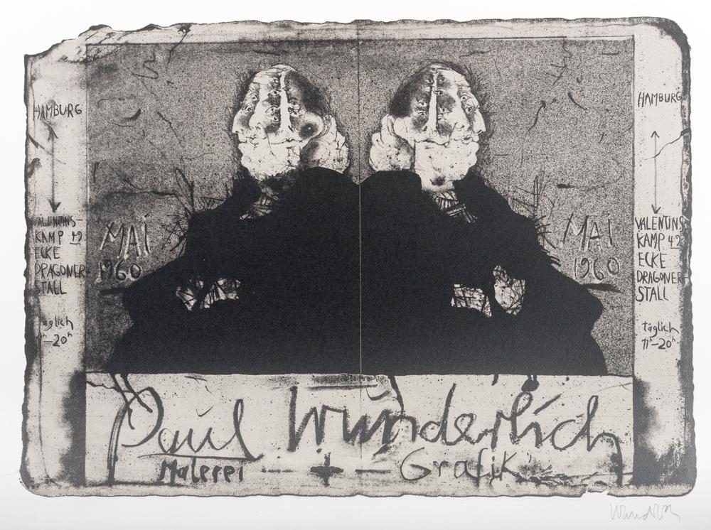 1960 | Plakat Dragonerstall