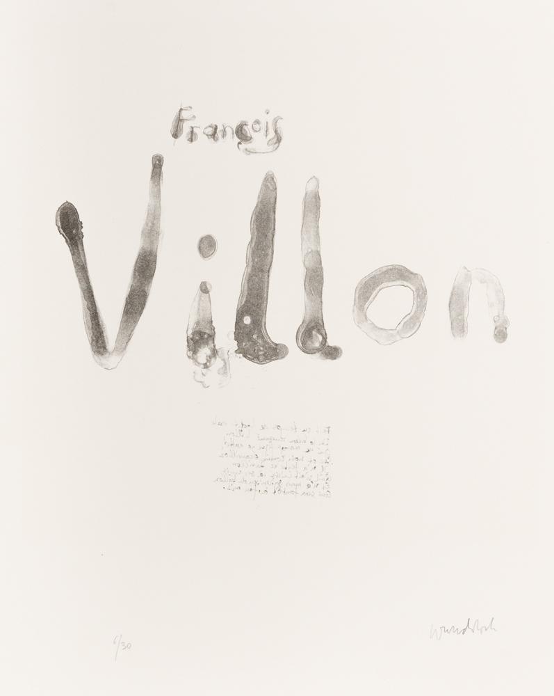 1961 | »Villon«, 1, Titelblatt