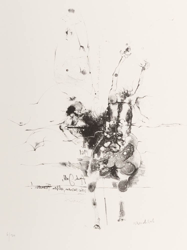 1961 | »Villon«, Blatt 4