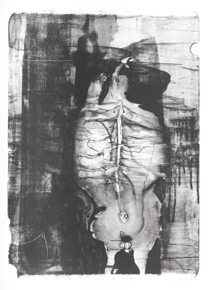 1959 | Figur in Asphaltlack