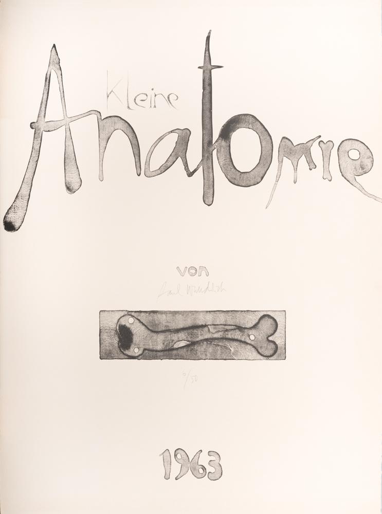 1963 | »Kleine Anatomie«, 1, Titelblatt