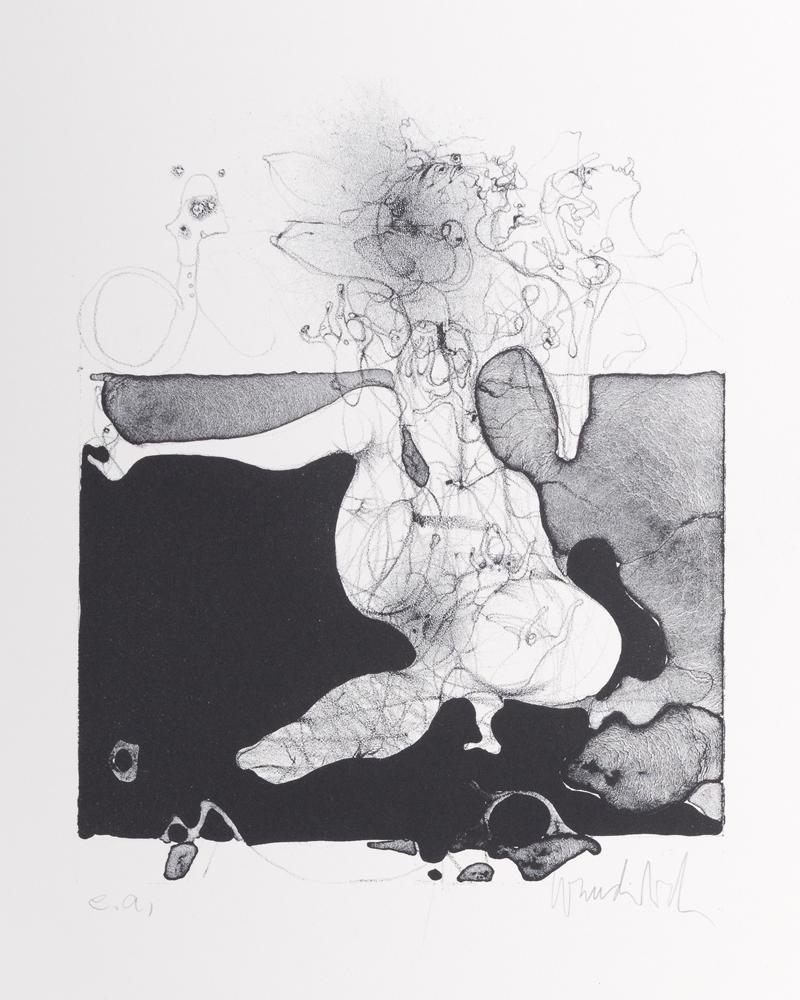 1964 | Lithographie für D. B.