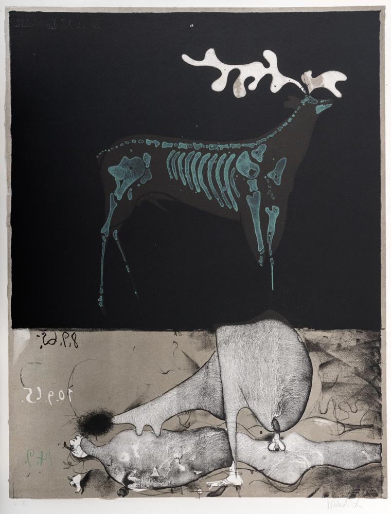 1965 | Im dunklen Wald, aus Mappe D.B.