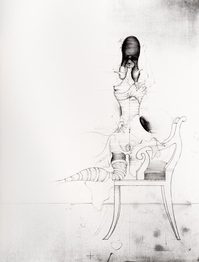 1966 | Frau mit Hochfrisur