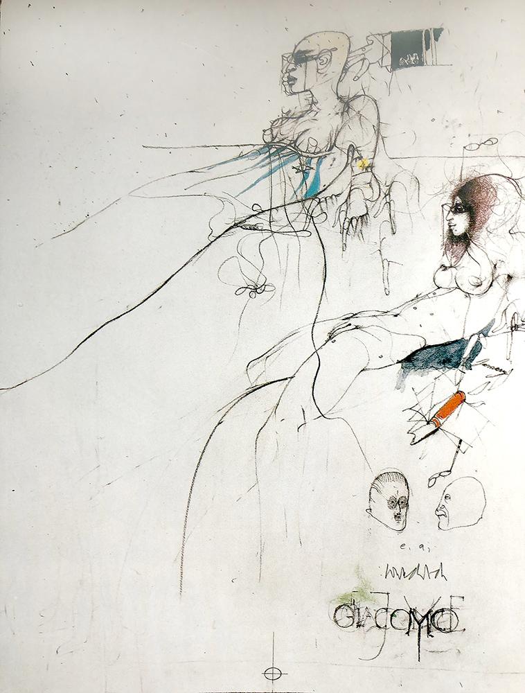 1976 | Giacomo Joyce, Blatt 3