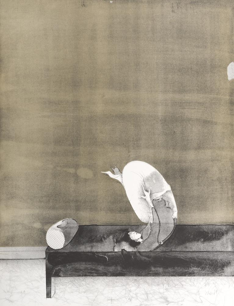 1968 | Jutta auf dem Sofa