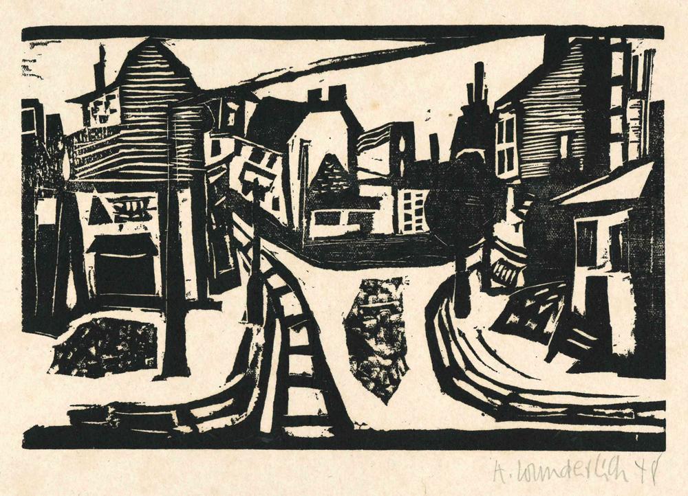 1952 | Kleine Stadtlandschaft