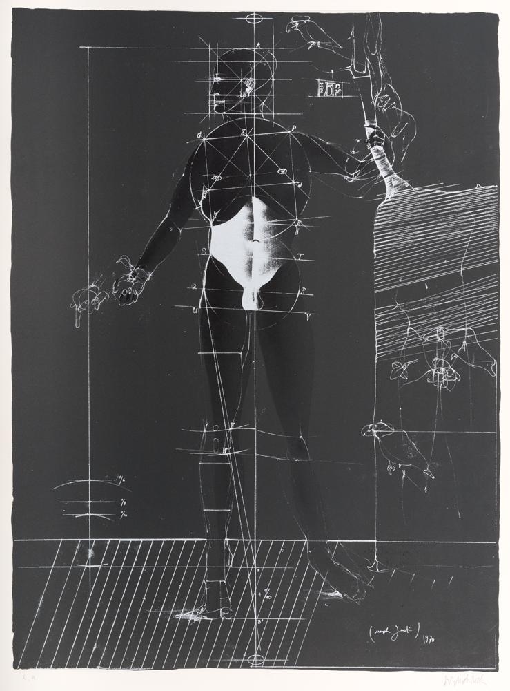 1970 | Die Konstruktion Adams durch Dürer nach Justi