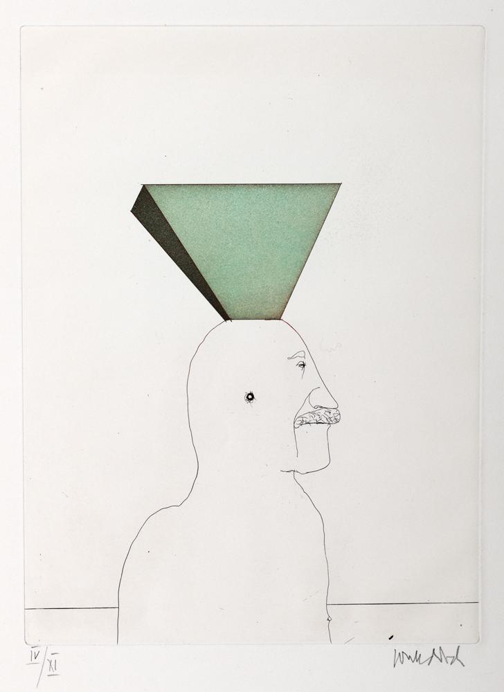 1973 | Selbst mit Pyramide