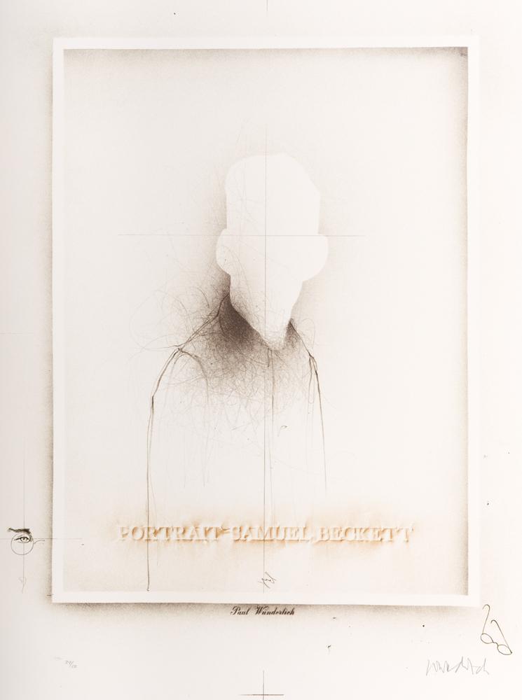1976 | Portrait Samuel Beckett