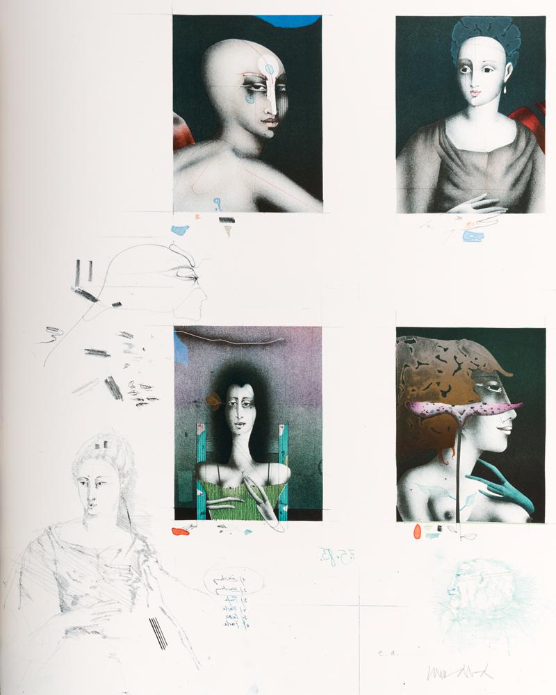 1985 | Portraits für Harenberg