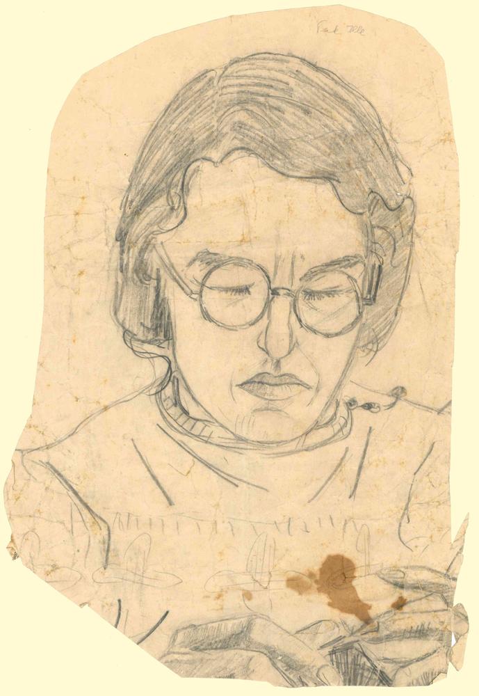 1946 | Lesende Frau