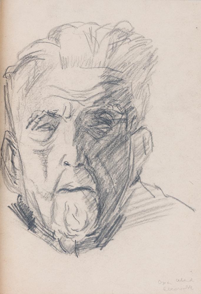 1945 | Paul Arendt im 80. Lebensjahr