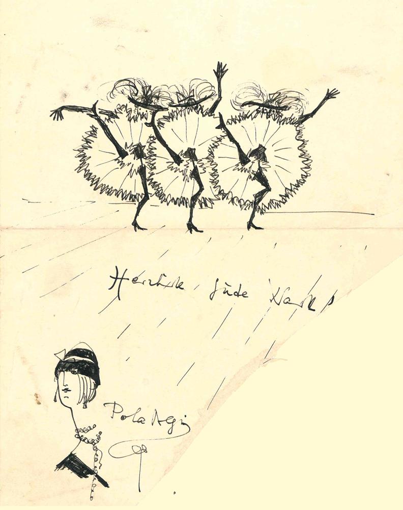 1950 | Drei Tänzerinnen