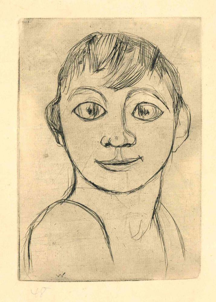 1948 | Portrait eines Jungen