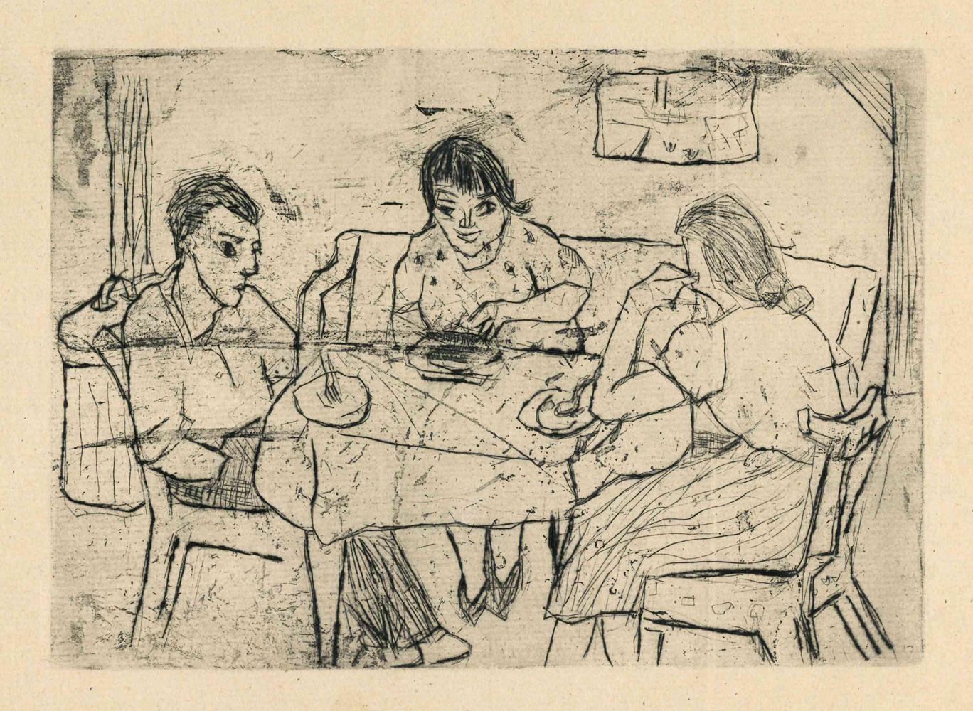 1948 | Mutter, Barbara und ich