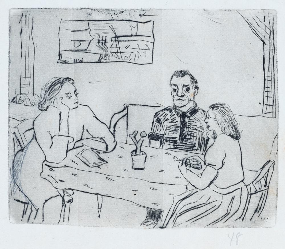 1948 | Mutter, Barbara und ein Mann