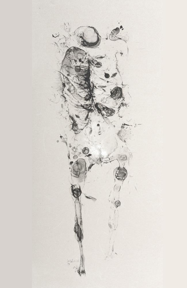 1959 | Figur auf Grau