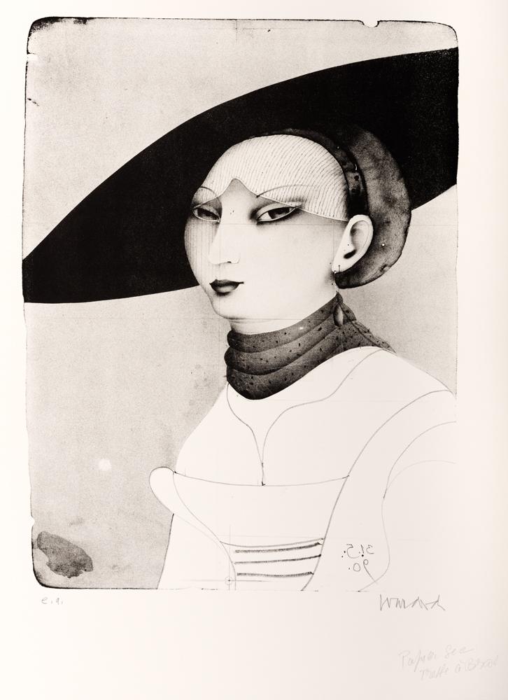 1990 | Kleines Portrait nach Lucas Cranach