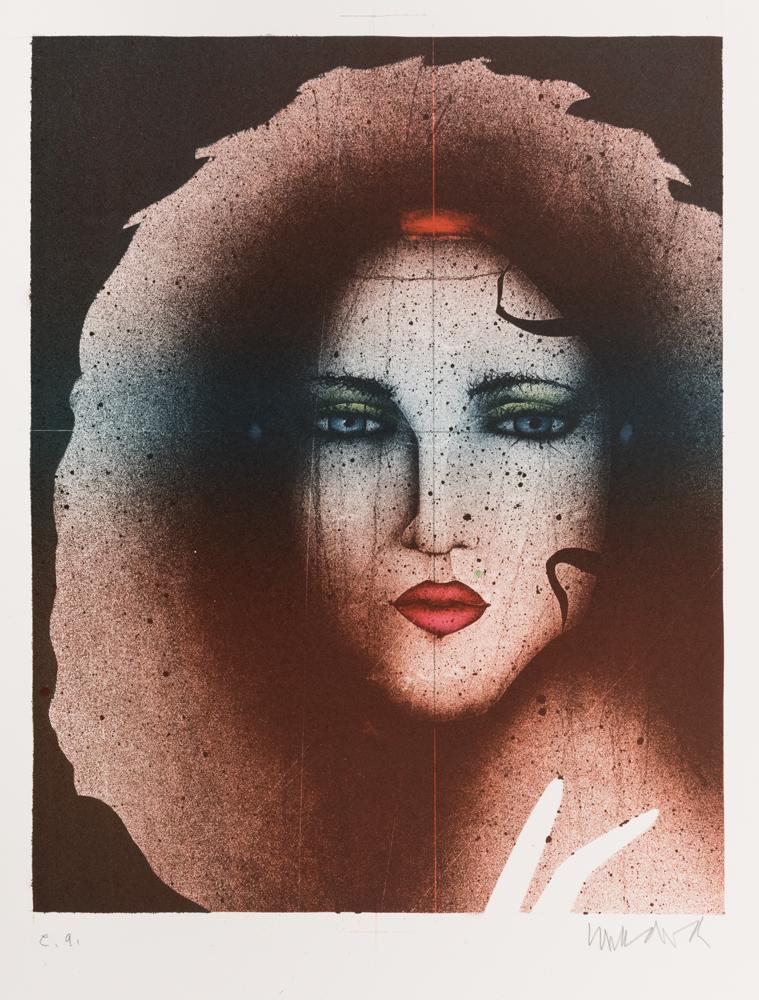 1992 | Madonna mit rotem Mund
