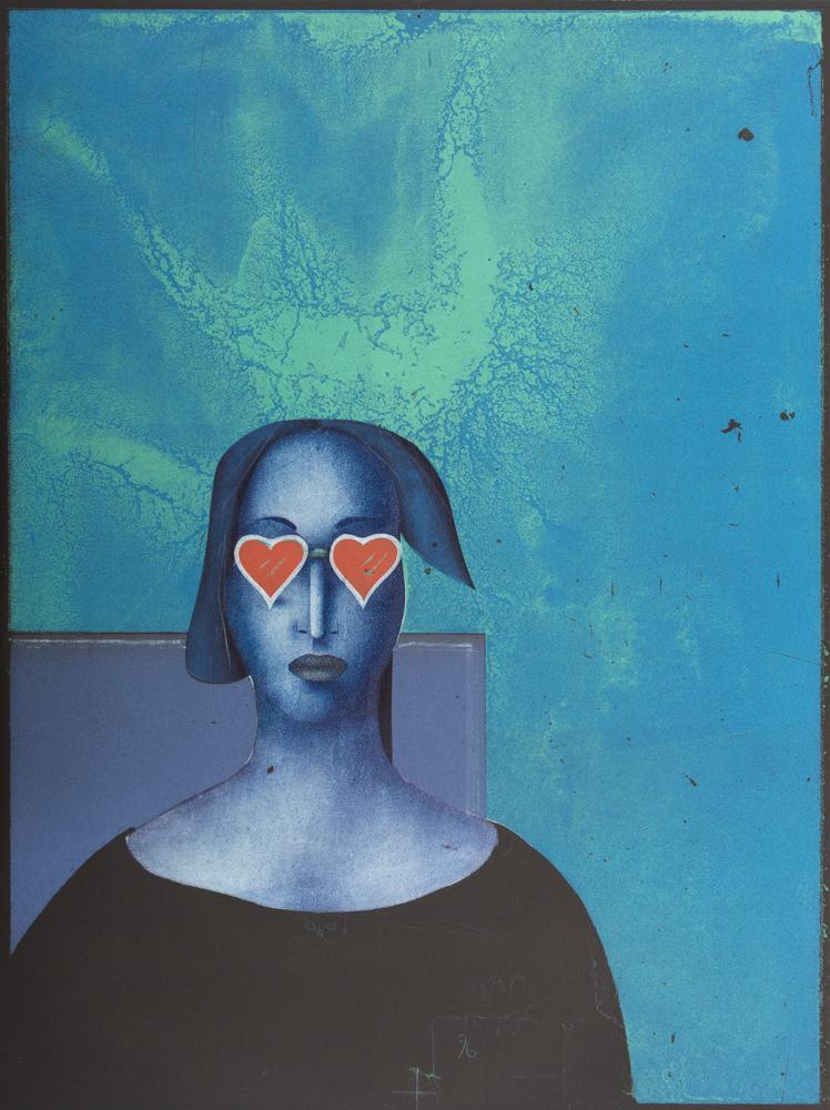 1996 | Frau mit Herzbrille