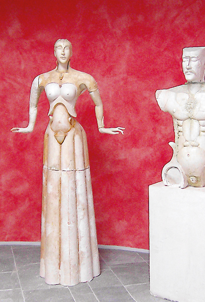 1998 | Tanzende Frau, Gips