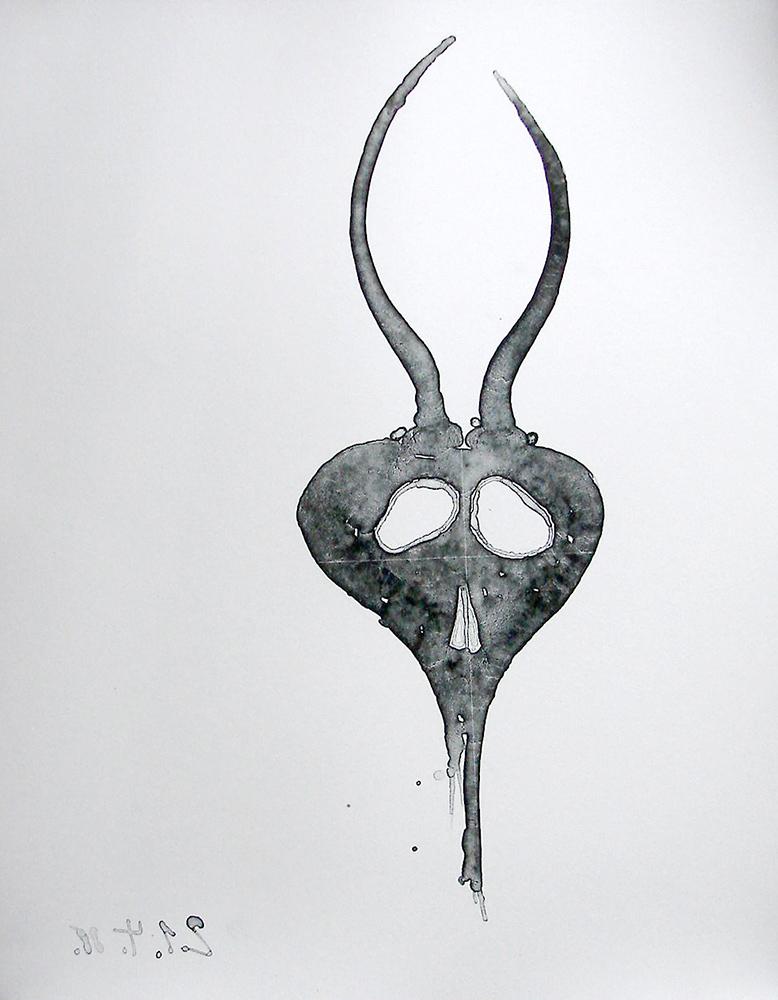 1988 | Antilopenschädel, 21.04.88
