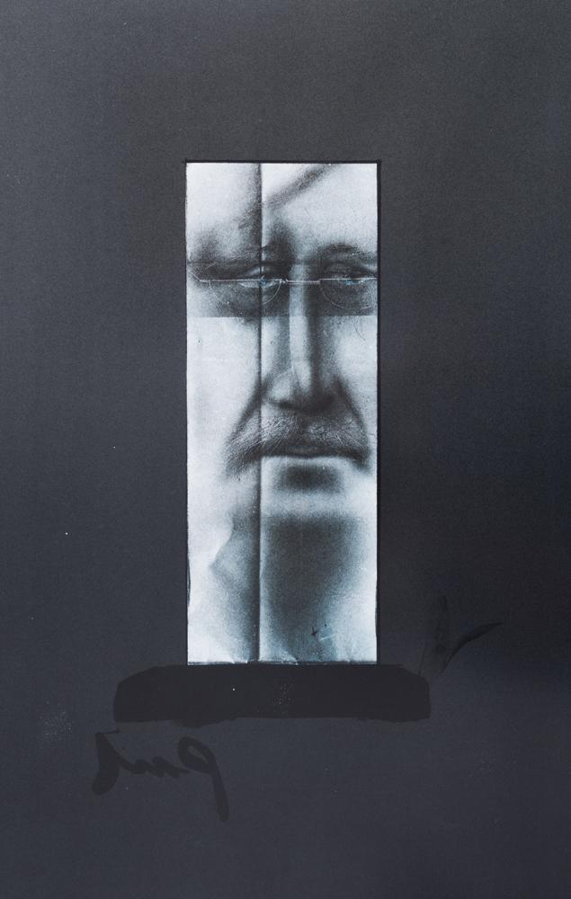 1980 | Selbstportrait mit Fingerprints